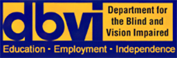 Department for the Blind and Vision Impaired Logo