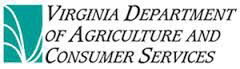 Virginia Department of Agricultural and Consumer Services logo